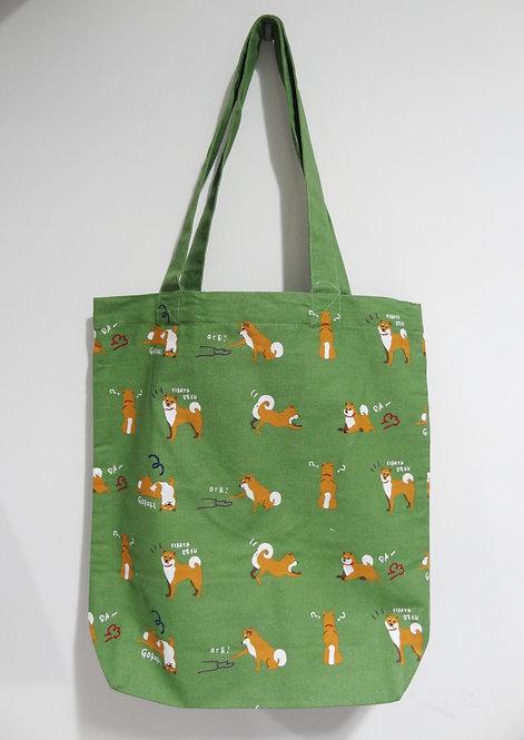 D01799_17 柴田tote bag(綠)