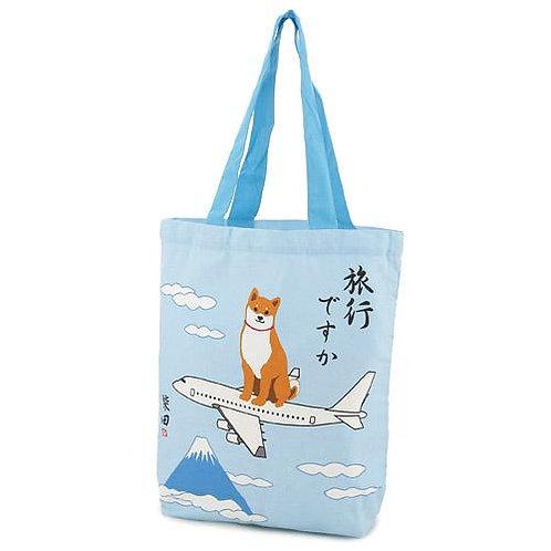 D01799 _41 柴田tote bag(富士山飛機)