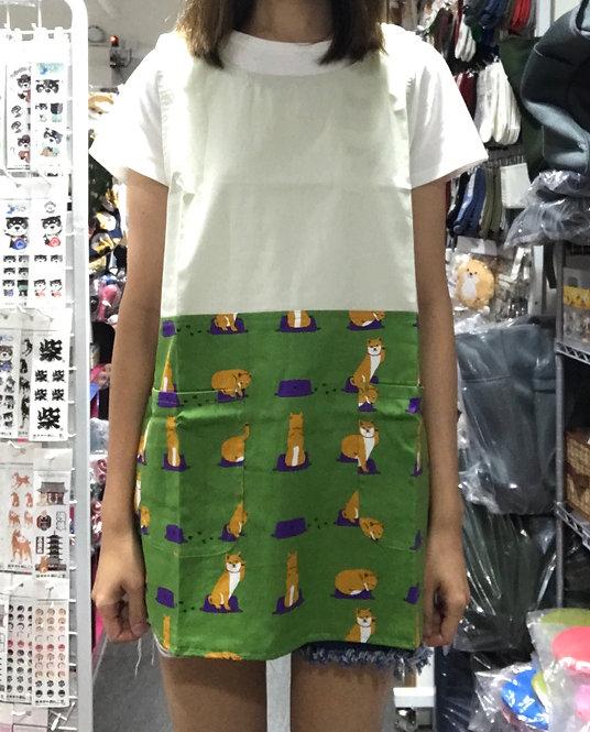 D01941_2 柴田巾背心型圍裙_綠