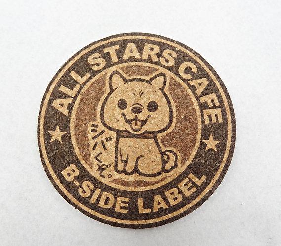 D02266 B-side label 雙面水松杯墊