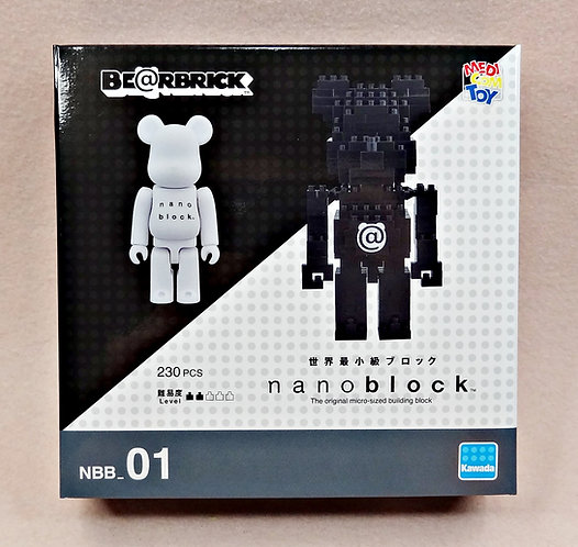 NBB_01 Bearbrick Set A