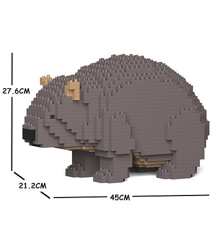 Jekca 袋熊 Wombat 01C (需訂貨)