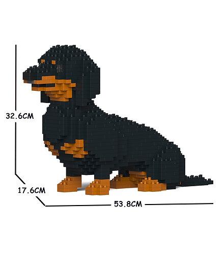 Jekca 臘腸狗 Dachshund 03C-M01 M size (需訂貨)