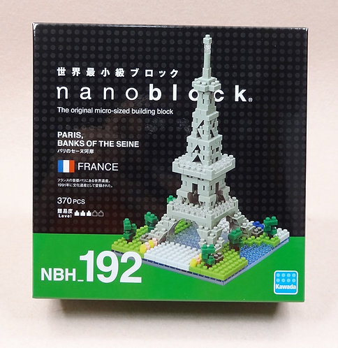 nanoblock NBH_192 Paris, Banks of the Seine