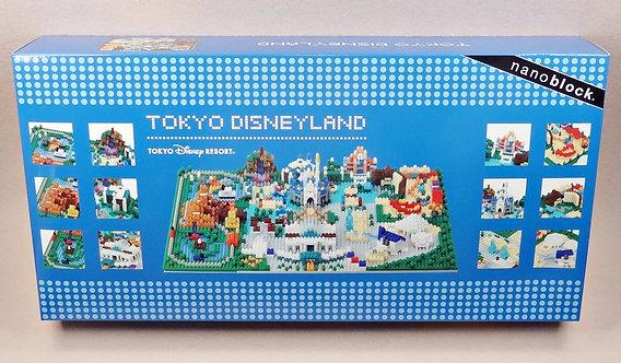 nanoblock D_2018_DISNEYLAND DISNEY Tokyo Disneyland 2018