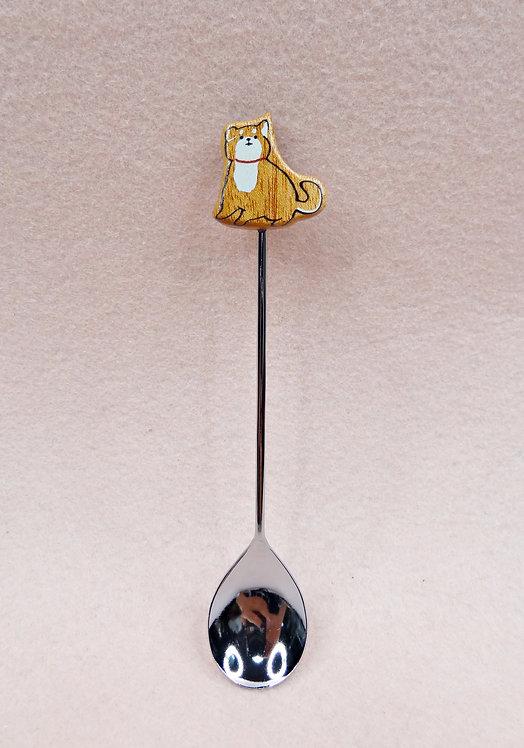 D02977 Choucuette柴犬小匙