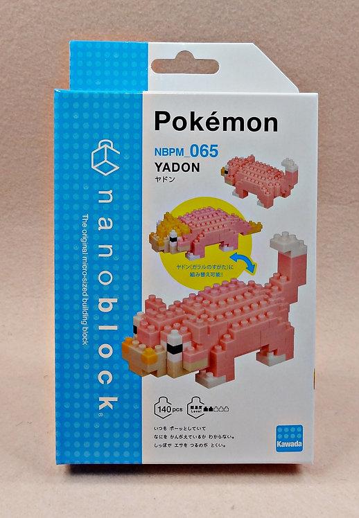 nanoblock NBMC_065 Pokemon Yadon