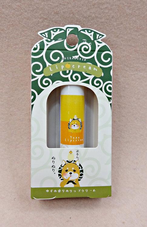 D03111 柴ずきん リップクリーム 柚子味潤唇膏