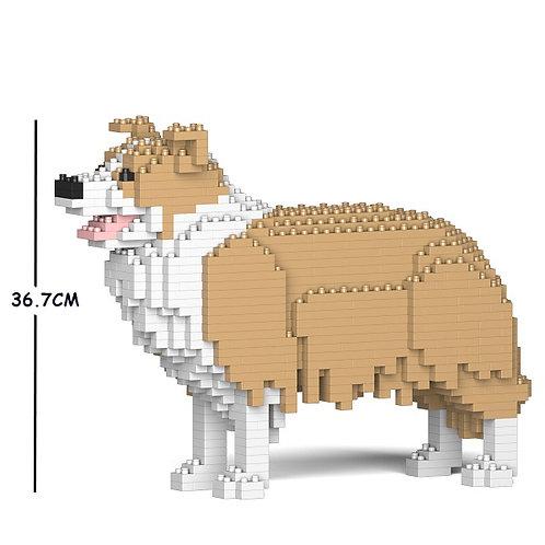 邊境牧羊犬 Border Collie 01C-M03 M size (需訂貨)