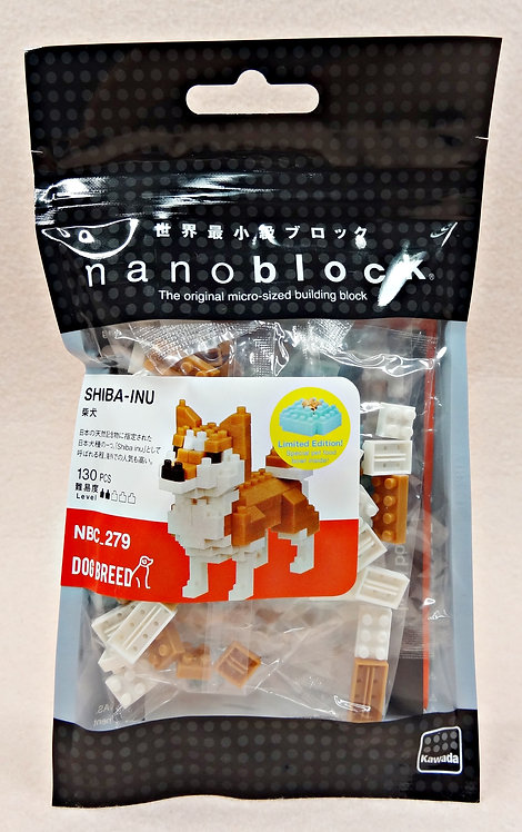 nanoblock NBC_279 Shiba-Inu