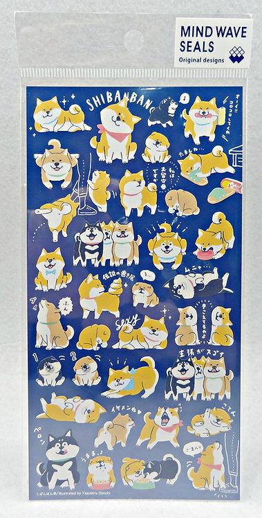 D02288 Mind Wave Shibanban sticker