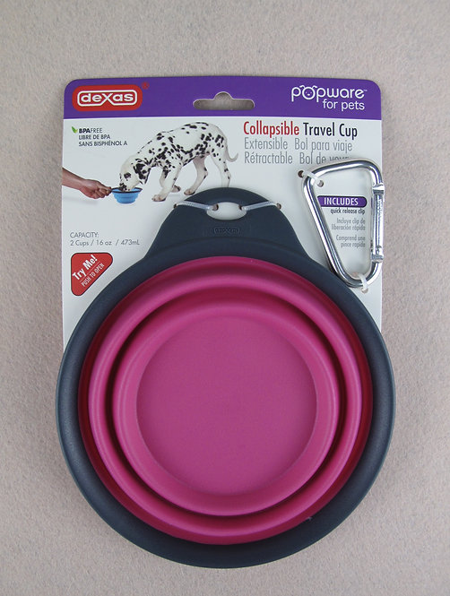 D01043 Dexas Travel Cup includes Carabiner - PN