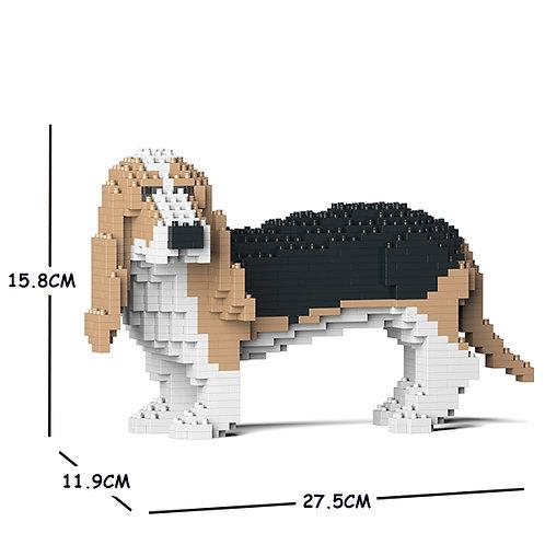 巴吉度獵犬 Basset Hound 01S-M02 S size (需訂貨)
