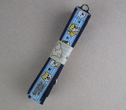 D01071 柴犬牽帶 - 深藍