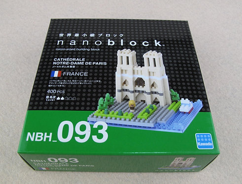 nanoblock NBH_093 Cathedrale Notre-Dame De Paris