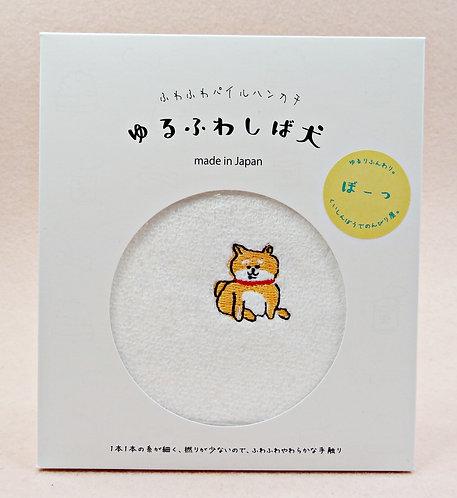 D02686_6 日本製全棉刺繡毛巾_ぼーつ
