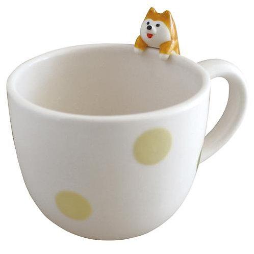 D02170 concombre柴犬杯
