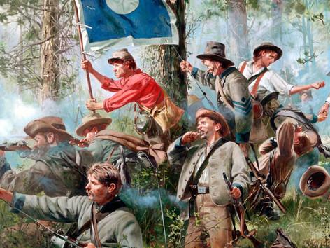Rosecrans' Pursuit - Confederate