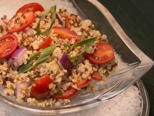 Salada Colorida de Quinoa