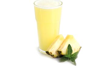 Suco de Abacaxi, Hortelã e Chá Verde