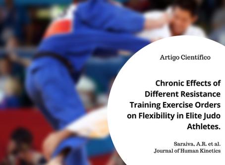 Exercício resistido e flexibilidade em atletas de Judô