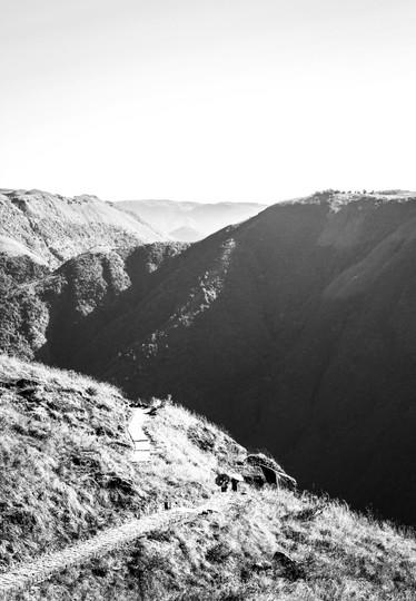 The Long Way Down   Meghalaya, 2017