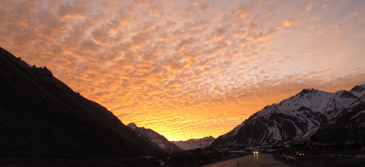 Andes Sunset   Mendoza, Argentina, 2011