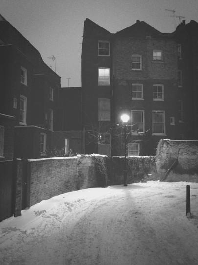 Snowy | London, Pindock Mews