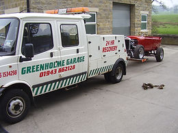 Greenholme Garage Recovery Truck