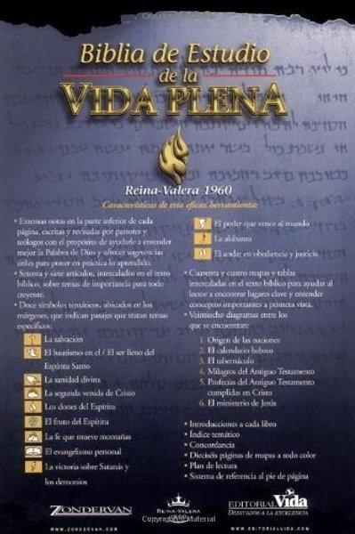 Biblia De Estudio Vida Plena