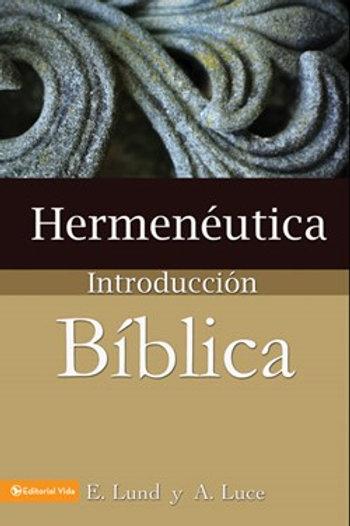 Introduccion a la Biblia y Hermeneutica