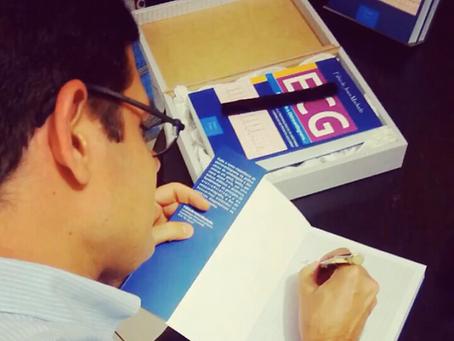 Médico sergipano lança livro sobre eletrocardiograma