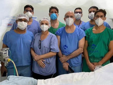 1ª ECMO em paciente COVID do Estado, realizada no Hospital de Cirurgia