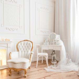 Fotostudijas interjers un dekorācijas