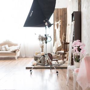 Fotostudijas interjers un dekorācijas, profesionāla fotostudija Rīgā www.labafotostudija.lv