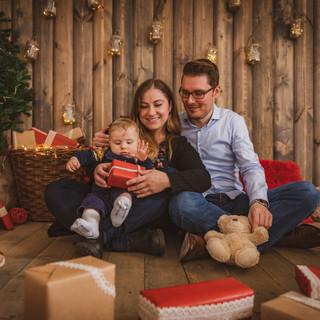 Ziemassvētku fotosesijas Labā fotostudija Rīgā