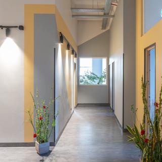 Biroja telpu interjera fotosesija