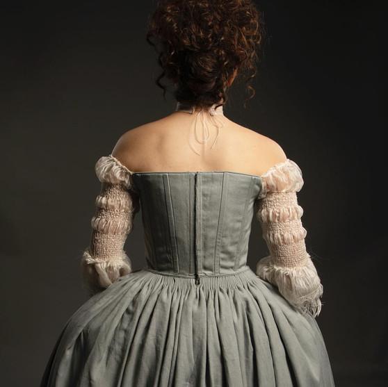 Claire Beacham's Wedding Dress