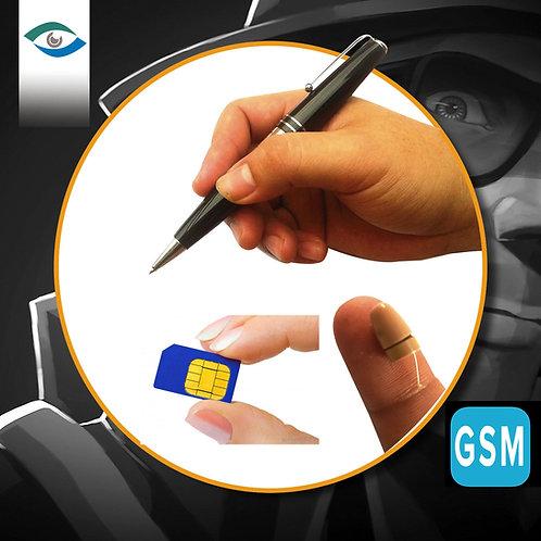SPY पेन जीएसएम - प्रो EARPIECE के साथ