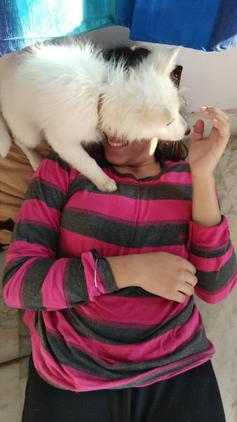 'No one can take you from me - Charlie The Dog Palak '