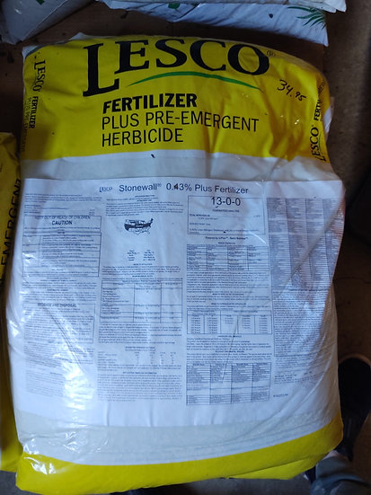Lesco Ferilizer Plus Pre-Emergent Herbicide