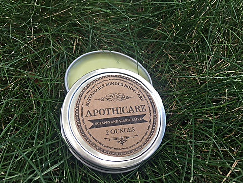 2oz Scrapes and Scars Salve