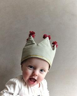 Leksaks krona för barn och baby