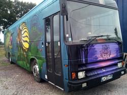Peinture exterieure Ludo Bus