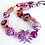 Thumbnail: Funky Purple Necklace