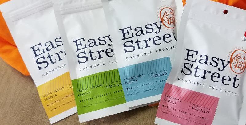 Easy Street (10 PC.) - THC 100 MG