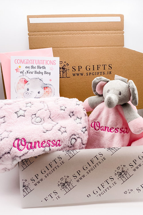 Elephant Delivery Box - Pink