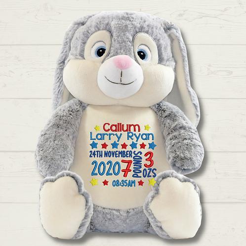 Birth Block - Clovis Bunny