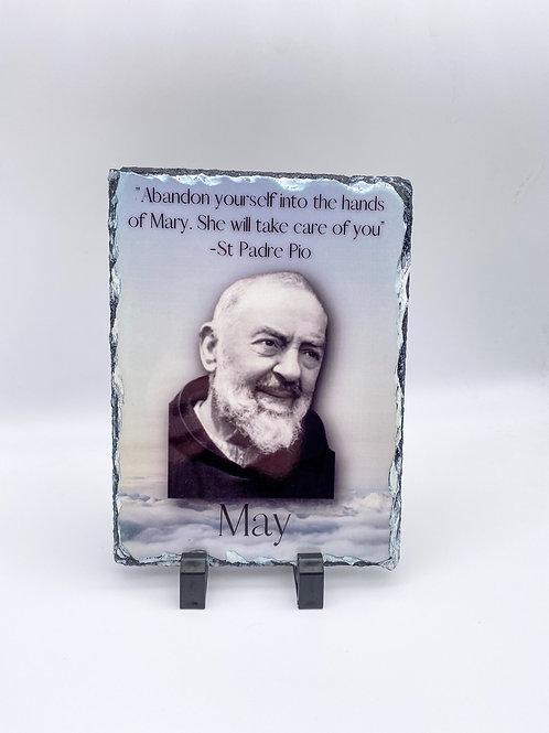 Padre Pio Slate