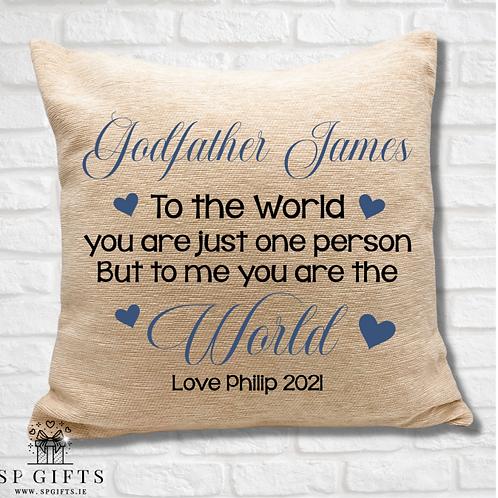 Godfather - To the world Cushion